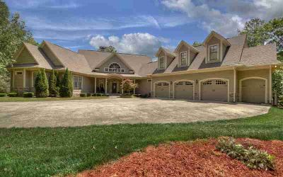 180 Emerald Springs Lane Ellijay Six BR, Custom built