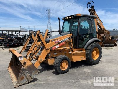 2005 Case 580 Super M Series 2 4x4 Backhoe Loader