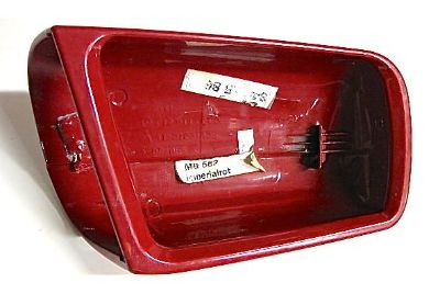 Sell Mercedes Benz RIGHT PASSENGER SIDE MIRROR red cover cap 210 811 0260 motorcycle in Coopersburg, Pennsylvania, US, for US $55.00
