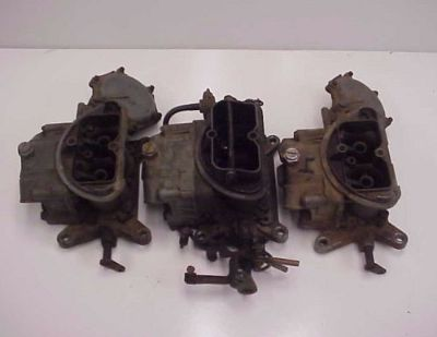 Buy 70 1970 CARBS CARBURETOR CHRYSLER DODGE PLYMOUTH 440 SIX PACK 3X2 4383 4375 4382 motorcycle in Leo, Indiana, United States, for US $999.00