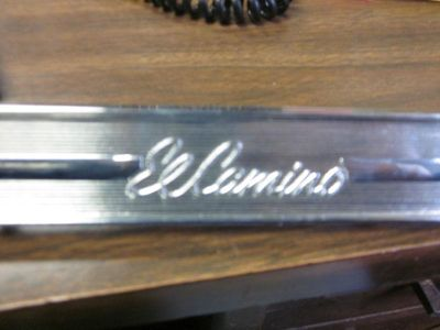 Buy 64 El Camino Glove Box Plate motorcycle in Houston, Texas, US, for US $15.00