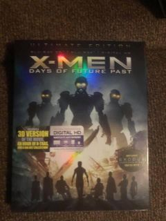 *NEW* X-Men Days of Future Past Bluray, Bluray 3D, and digital copy