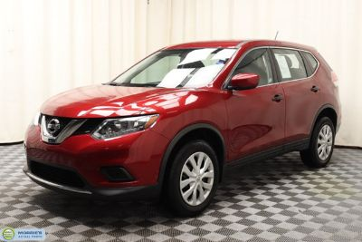 2016 Nissan Rogue AWD 4dr S (Cayenne Red)