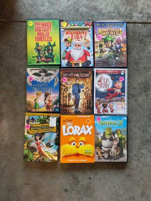 Lot of DVD movies for kids