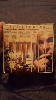 I Claudius - Dereck Jacobi, Sian Phillips - Complete Set of 7 VHS Like New