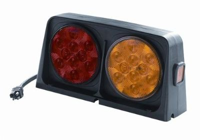 Sell Wesbar 54209-008 Trailer Light Kit - Dual - LED - Amber/Red - w/Brake Light motorcycle in Naples, Florida, US, for US $85.95