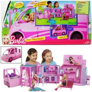 Barbie sister's deluxe camper new