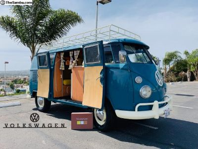 1964 VW Bus with new Westfalia Camper Interior