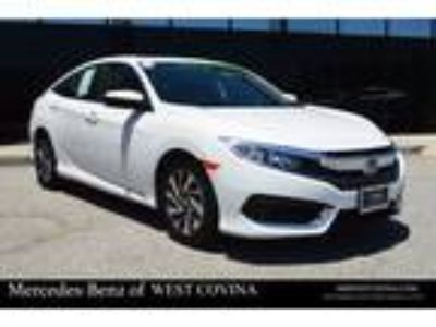 Used 2016 Honda Civic Sedan White, 31.6K miles