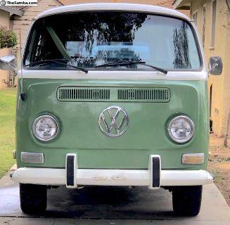 1971 VW Bus/Weekender Camper California Bus Rust F