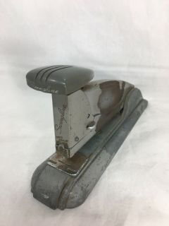 Swingline Speed Stapler Art Deco Steel Light Gray Movie Prop