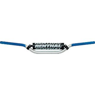 "Purchase Silver/Blue Renthal 7/8"" Kawasaki KX125/250 & Suzuki RMZ250 Handlebar motorcycle in San Bernardino, California, US, for US $59.99"