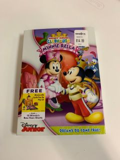 Disney Mickey Mouse Clubhouse Minnie-Rella DVD ~ NEW