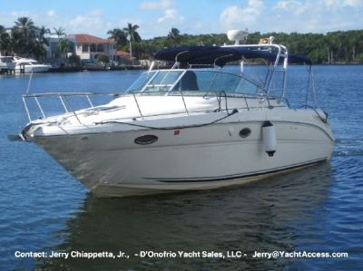 2004, 29 SEA RAY 290 AMBERJACK For Sale