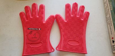 Rubber Kitchen Hot Pot Gloves