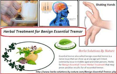 Natural Treatment for Benign Essential Tremor