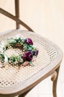 Custom Bridal Headpiece Fresh Flower Crowns Los Angeles