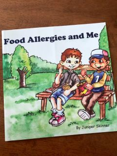 Food Allergies and Me Picture Book, VGUC, $5. Porch pick up only.