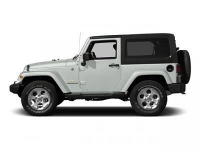 2015 Jeep Wrangler Rubicon (Bright White Clearcoat)