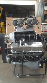 454ci- 6-71-BLOWN BBC MOTOR COMPLETE