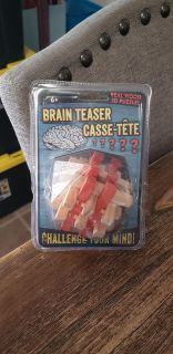 New Wood Brain Teaser Puzzle