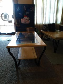 Glass ciffee table
