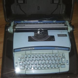 vintage coronamatic electric typewriter