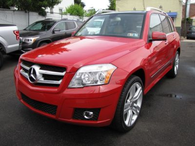 2012 Mercedes-Benz GLK-Class GLK350 4MATIC (Mars Red)