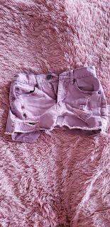 Purple Aeropostale shorts