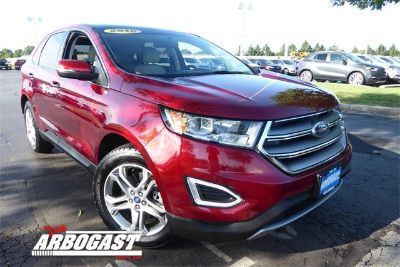2016 Ford Edge Titanium (Ruby Red Metallic Tinted Clearcoat)