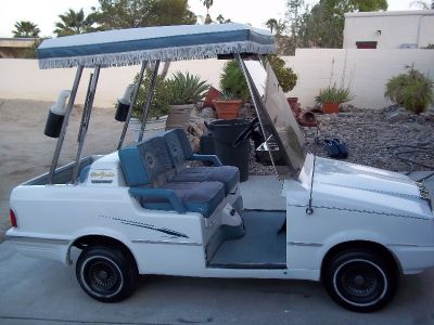 4 SEATER GOLF CART STREET LEGAL BOB HOPE CHRYSLER CLASSIC WESTERN ELEGANTE - NEW YORKER