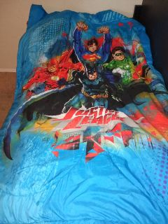 Twin Justice league bed set