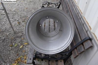 "1 wide 5 aluminum wheel 15"" by 12"""