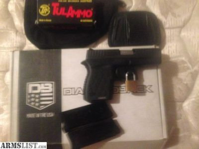 For Sale/Trade: NIB DiamondBack 9mm