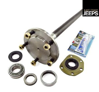 Sell 16530.39 OMIX-ADA LH AMC 20 1 Piece Axle Kit QT, 76-79 Jeep CJ Models, by motorcycle in Smyrna, Georgia, US, for US $158.98