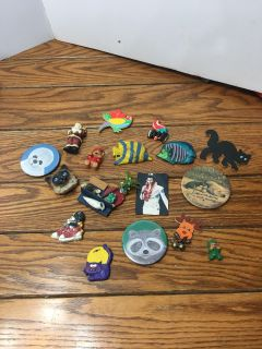 All of the refrigerator magnets Porch Pickup Marquette Hts Only