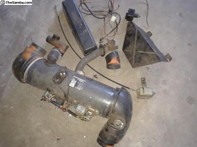 Complete VW gasoline heater from 1973 Thing