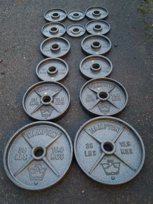 Olympic Plates-185lbs