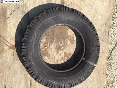 NOS stock 1 continental tire 5.60-15 Tire