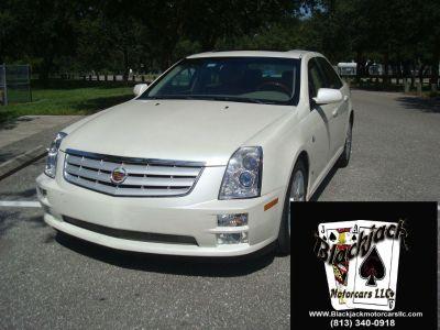 2007 Cadillac STS V6 (White)
