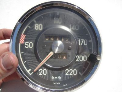 Buy MERCEDES 300SE 300 SE 111 112 SPEEDOMETER 220 KMH KPH VDO 0055421406 motorcycle in Los Angeles, California, United States, for US $685.00
