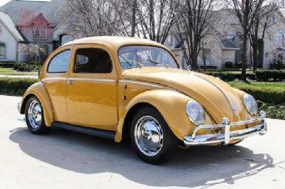 1956 Volkswagen Beetle Oval Window