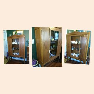 Larger China Display Cabinet