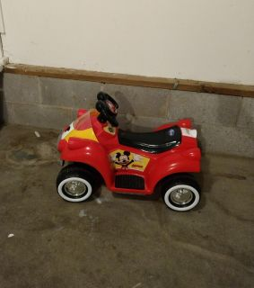 Mickey Mouse powered ride on