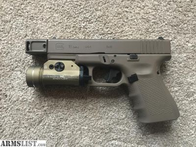 For Sale: Custom Vickers Tactical Glock 19 FDE