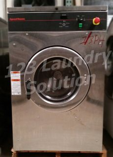 Fair Condition Speed Queen Front Load Washer OPL 30LB 1/3PH 220V SCN030GNFXU3001 Used