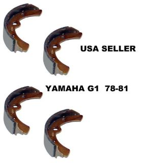 Sell YAMAHA G1 CART BRAKE SHOES 1978-1981 2 CYCLE GAS or ELECTRIC J10-W2536-01 NEW motorcycle in Oxford, Massachusetts, United States, for US $18.99
