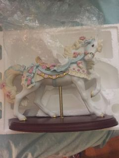 Lenox Ribbons and Roses Carousel horse