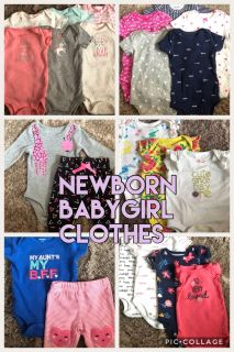 Newborn baby girl clothes for sale