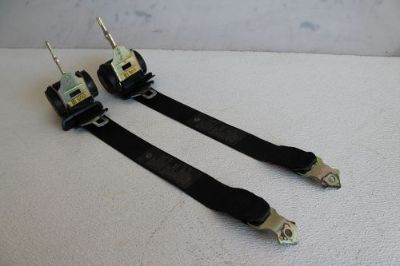 Find BMW E46 M3 OEM COUPE REAR BACK SAFETY SEATBELT SEAT BELT BELTS STRAPS PAIR SET 8 motorcycle in Buda, Texas, United States, for US $64.00